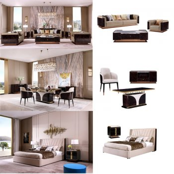 Full set of furniture for villa and h